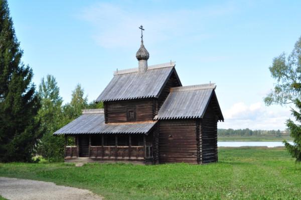 Витославлицы Успенская церковь  из д. Никулино