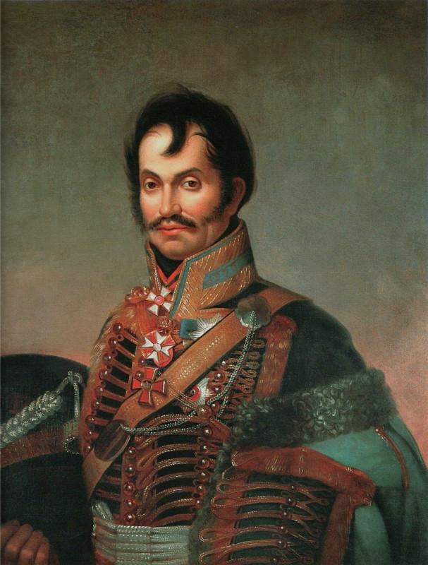 чаплиц  Портрет генерал-лейтенанта Ефима Игнатьевича Чаплица