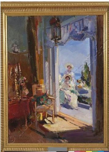 КОнстантин КОровин Терраса 1917