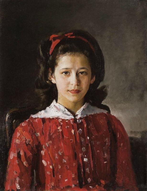 Валентин Серов портрет Мамонтовой