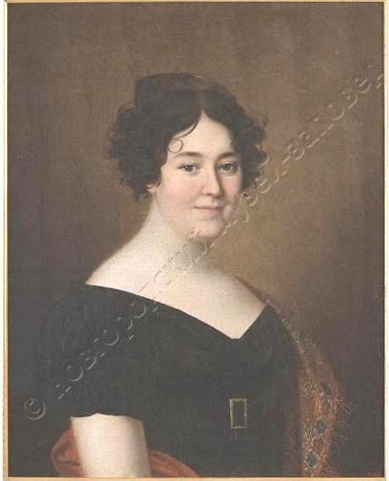 Аргунов Н.И. Женский портрет 1810-1820