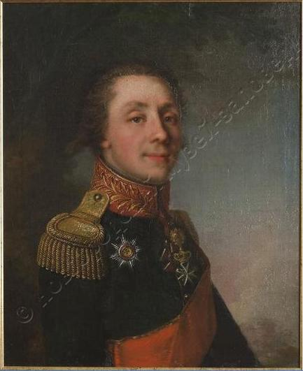 Лампи И.Б. Генерал -майор Аракчеев Андрей Андреевич