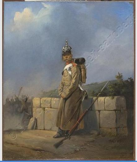 Виллевальде Б.П. Солдат 1860-1870