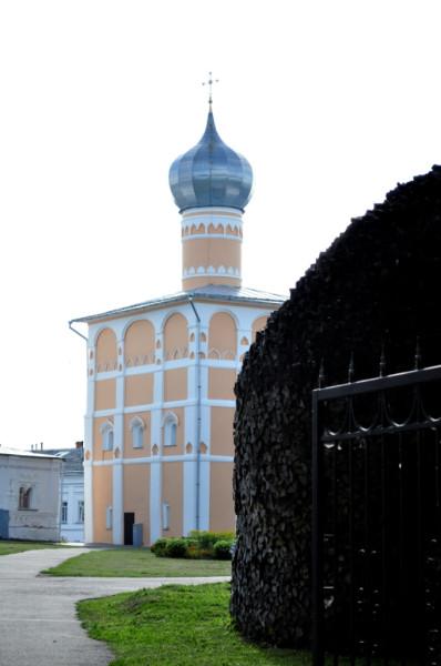 Хутынь Варлаамиевская церковь