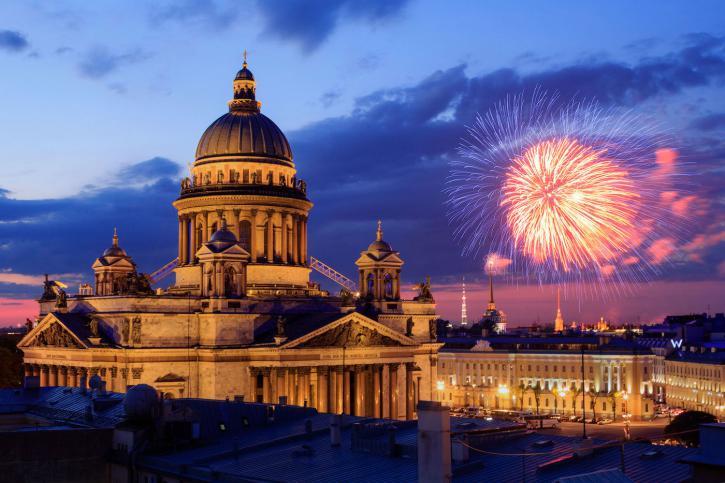 Петербург салют