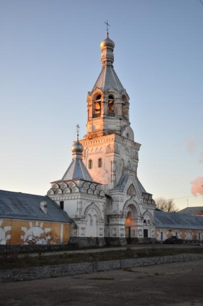 Великий Новгород Колокольня Десятинного монастыря
