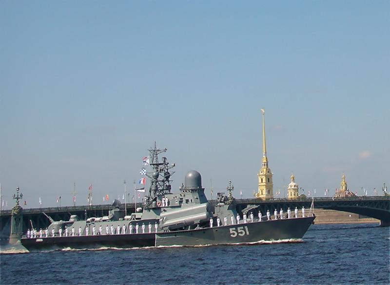 Малый ракетный корабль Ливень