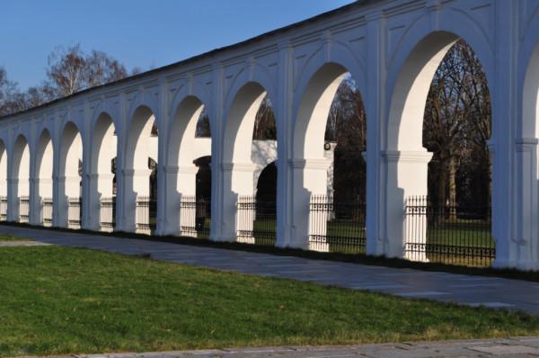 Великий Новгород Ярославово Дворище аркада гостиного двора