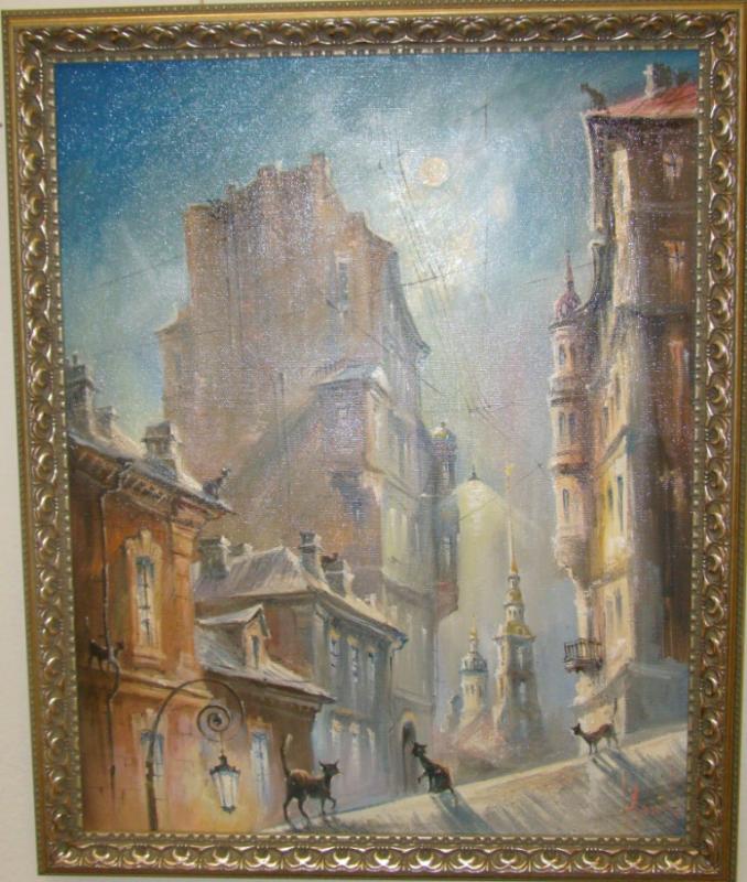 Кошачий Петербург Юрий Степанов