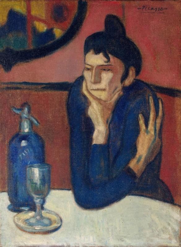 Пикассо Любительница абсента