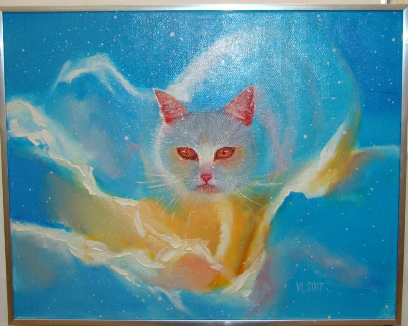Снежный кот Валентина Шаронова