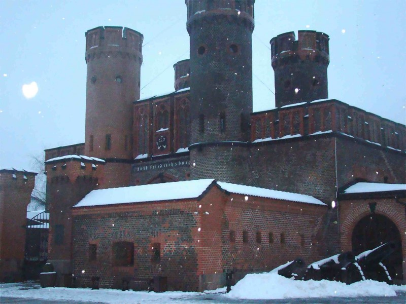 Ворота крепости Фридрихсбург