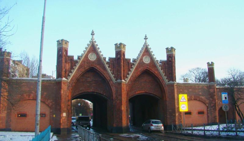 Литовский вал Бранденбургские ворота