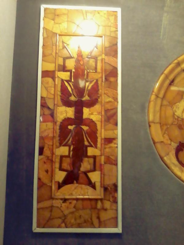 Деталь янтарной комнаты