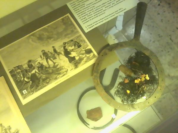 Добыча янтаря в средние века