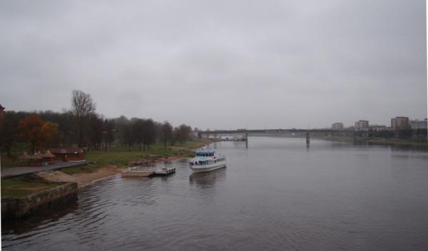 Великий Новгород река Волхов