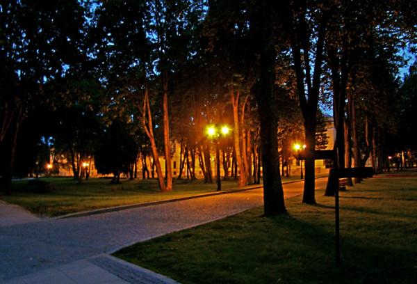 Великий Новгород Кремль вечер