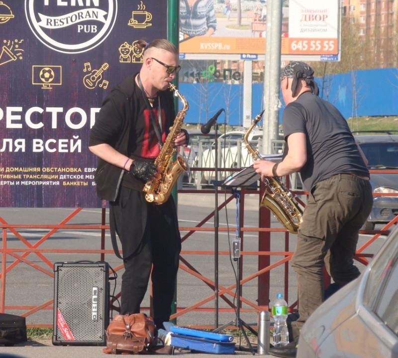Саксофонисты на Парнасе