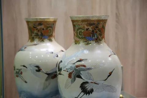 Японская коллекция вазы