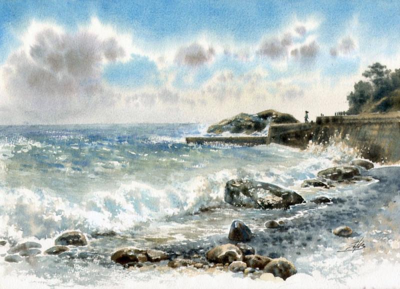 Крым море Ольга Ивлева