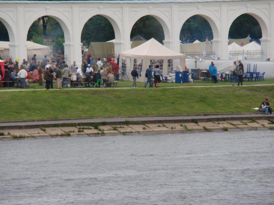Великий Новгород Ганза средневековый рынок