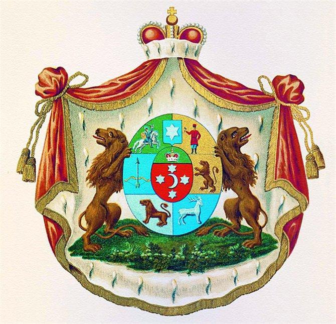 Герб князей Юсуповых