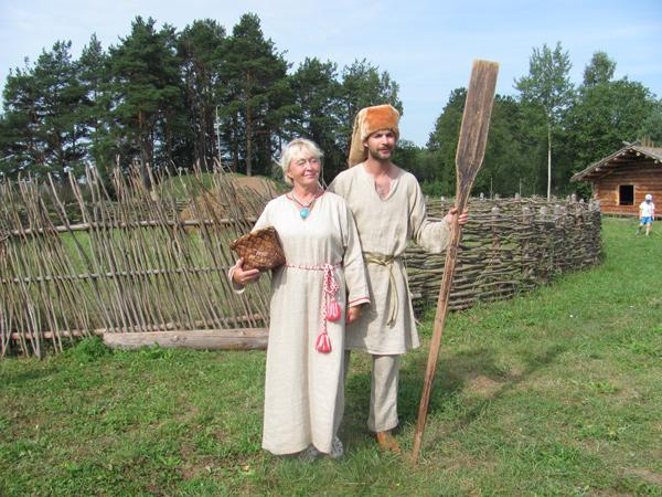 Славянская деревня Х века п. Любытино Новгородская область