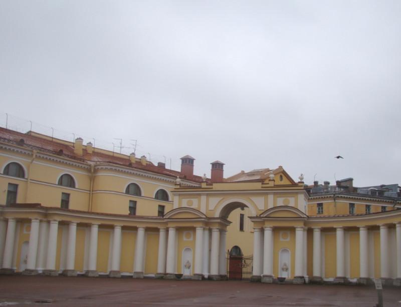 Юсуповский внутренний дворик