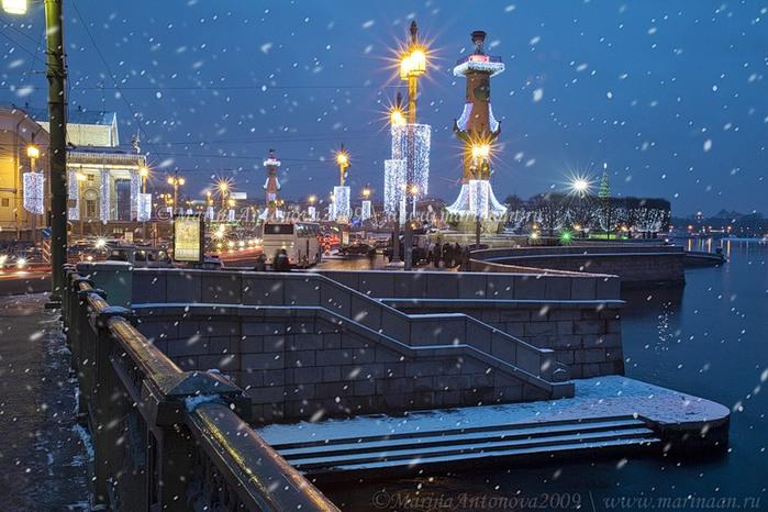 Снег в СПб