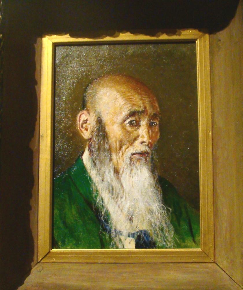 Василий Верещагин Японский священник 1903 г. Дар имп. Николая II 1905 г.