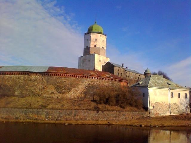 Выборгский замок. Март 2014