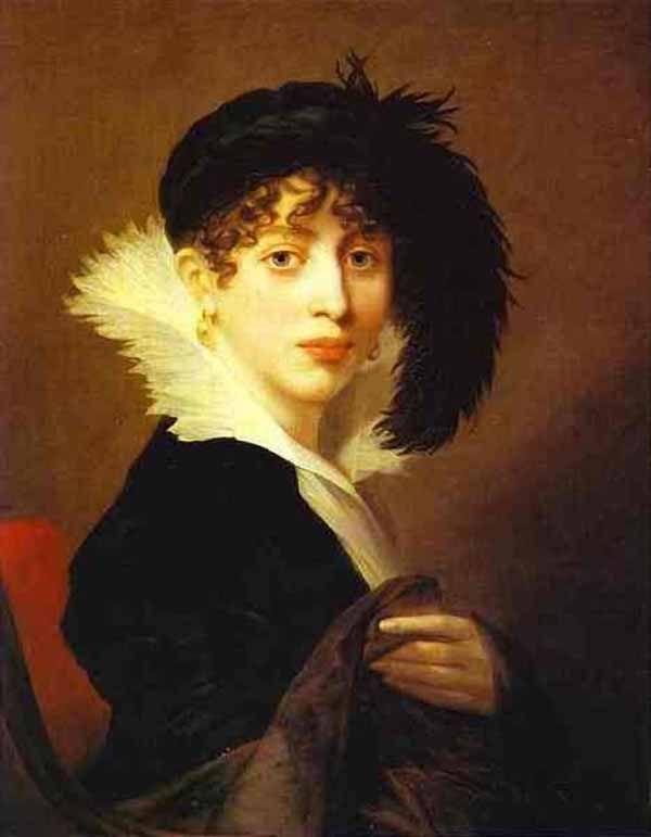 Графиня Софья Владимировна Строганова 1808  Жан-Лоран Монье