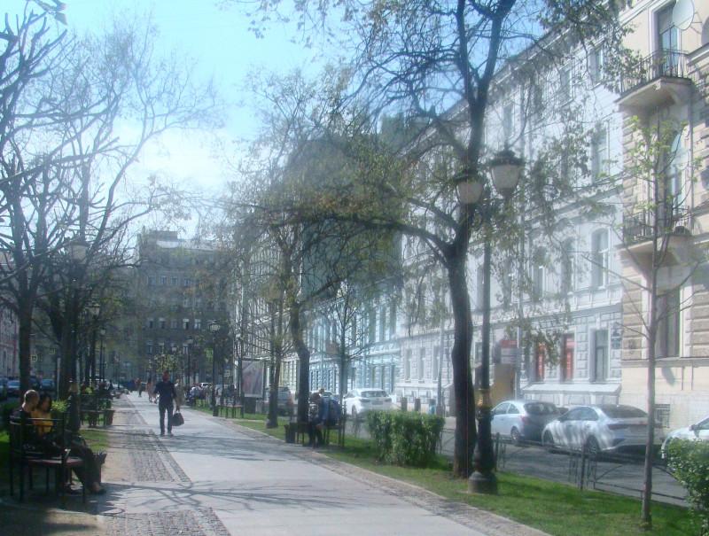 Фурштадская ул. 15 мая 2021 г.