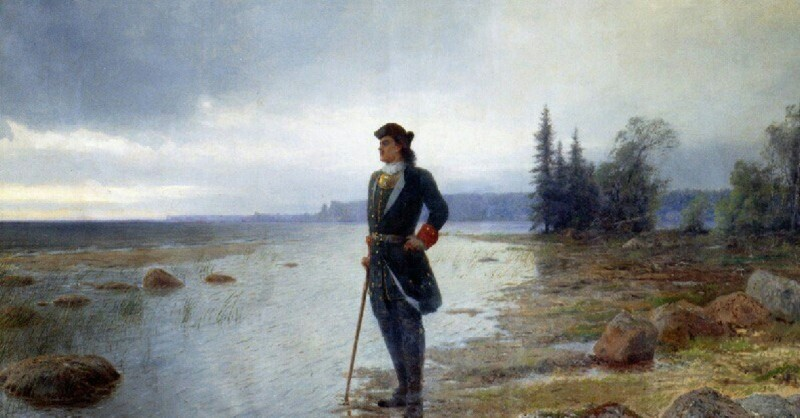 "Лев Лагорио ""На берегу пустынных волн..."" 1897"