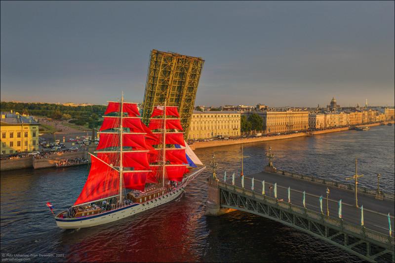 Алые паруса — 2021 фото Петр Ушанов