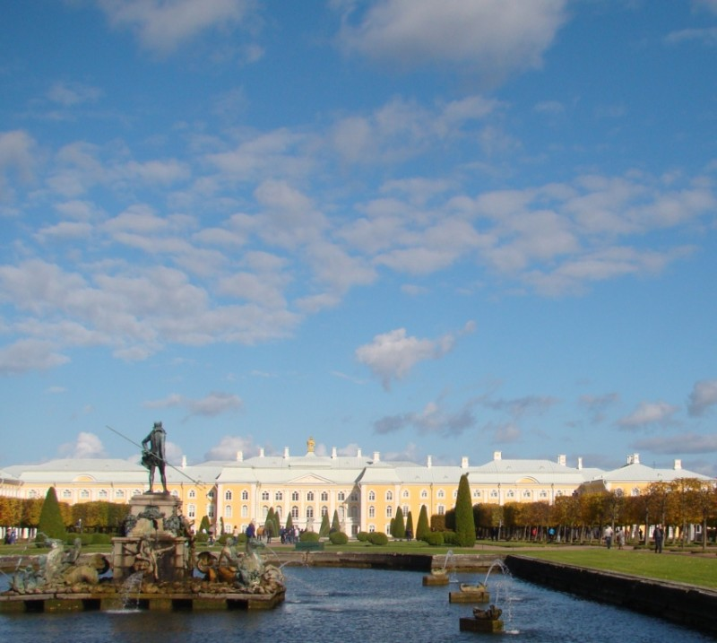 Петергоф Верхний парк
