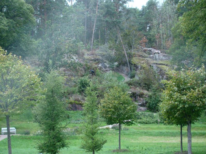 Скальная гряда Парк Монрепо