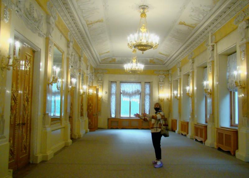 Большой зал Елагиноостровского дворца