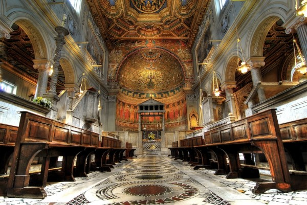 Италия Рим Базилика св. Климента