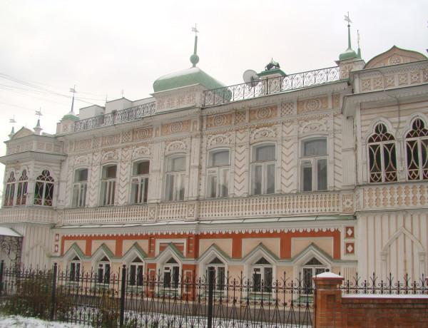 Усадьба Агафуровых. Ул. Сакко и Ванцетти, 24