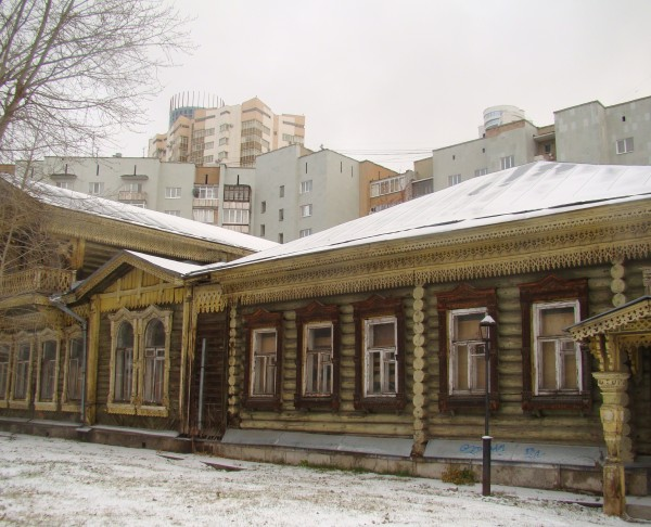 Дом К.М.Попова.