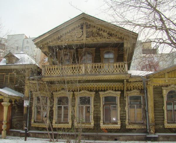 Дом К.М.Попова. Ул. Сакко и Ванцетти, 23