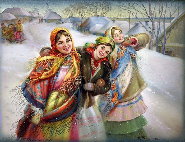 Рождественские поздравления по русски