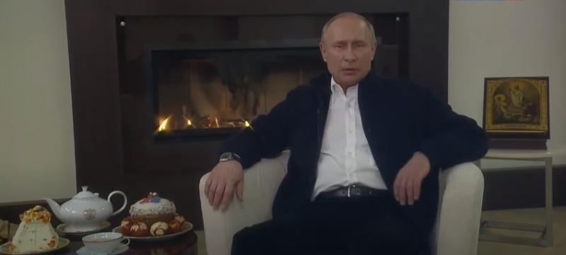 2020.04.19  Владимир Путин поздравил православных христиан и всех граждан России, отмечающих Пасху – Светлое Христово Воскресение.