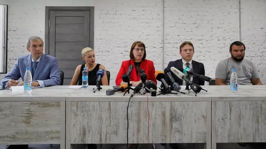 Павел Латушко, Мария Колесникова, Ольга Ковалькова, Максим Знак, Сергей Дылевский