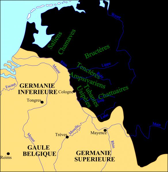 germania superior germania inferior