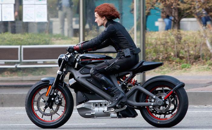 Первый электрический байк Harley-Davidson