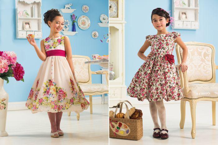 1. Нарядные платья для девочек