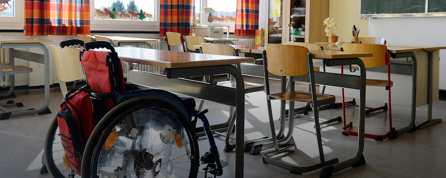 Инвалиды и образование