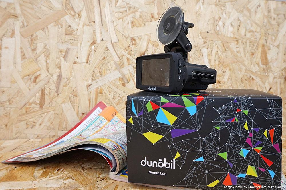 Видеорегистратор с радар-детектором Dunobil Stern